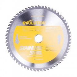 Disco para aluminio para tronzadora 355 Raptor EVOLUTION STEEL
