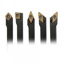 Juego de 5 cuchillas HM, 12mm OPTIMUM