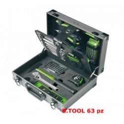 Maletín de herramientas B.TOOL 63 Piezas