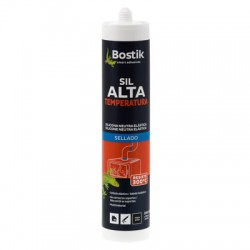 Sellador SIL alta temperatura BOSTIK, cartucho 300ml