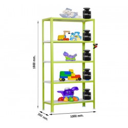 Estantería Homeclick Metal Colour Plus 5/300 SIMON RACK