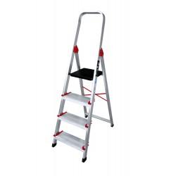 Escalera de aluminio PLUS serie PROFESIONAL KTL