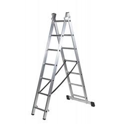 Escalera doble con base serie PROFESIONAL