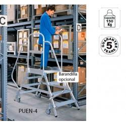 Escalera de Castillo Movil Aluminio SVELT PUENTE