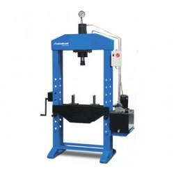 Prensa hidraulica motorizada con cilindro fijo de Metallkraf