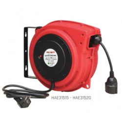 Enrollador eléctrico 20 m HAE31520