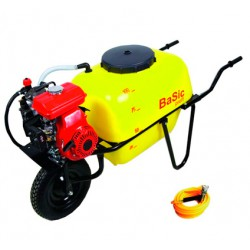 Carretilla con Bomba Eléctrica Deposito 100L GMB 600 BASIC C