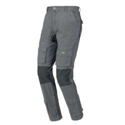 PANTALON STRETCH ON GRIS INDUSTRIAL STARTER