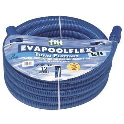 Rollo tubo piscinas 'EVA-POOL' + conectores, 15 mtrs.