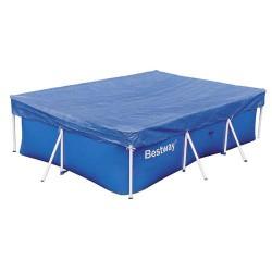 Cobertor piscina rectangular 400x211 cm.