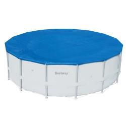 Cobertor piscina redonda estructura metálica, varias medidas