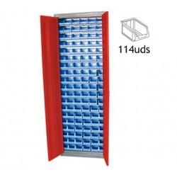 Armario con Cubetas DEBK114D METALWORKS